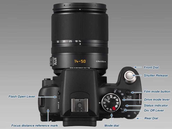 original vhbw® Ladegerät für Leica BP-DC6; Panasonic DMW-BCC12