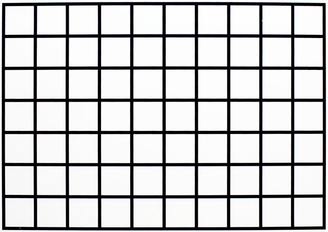 A Grid Chart For The Distortion Tests
