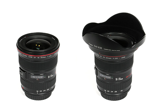 Canon EF 16-35mm f/2.8 USM L - Review / Lab Test Report