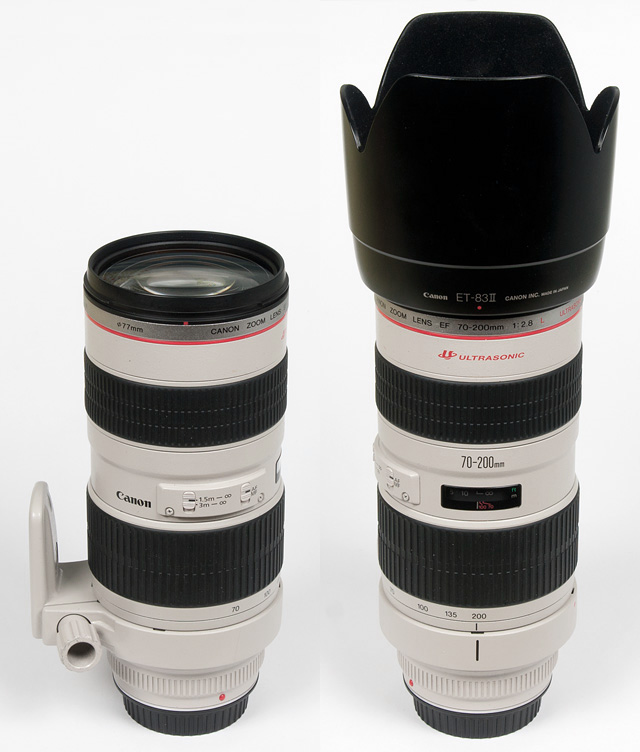 Canon EF 70-200mm f/2 8 USM L - Review / Test Report