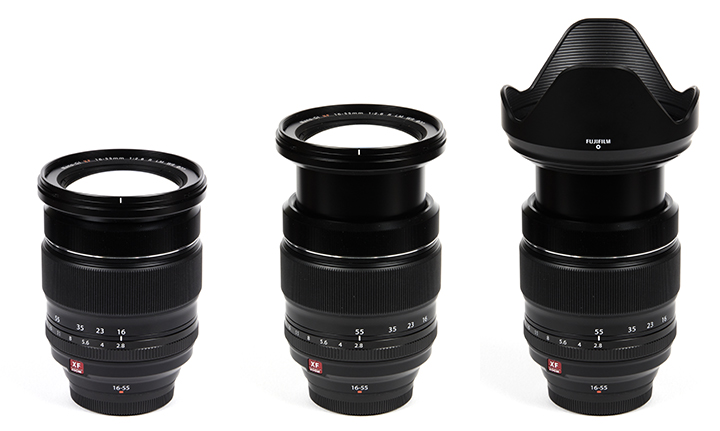FUJINON XF16-55mmF2.8 R LM WR Lens Driver Windows 7