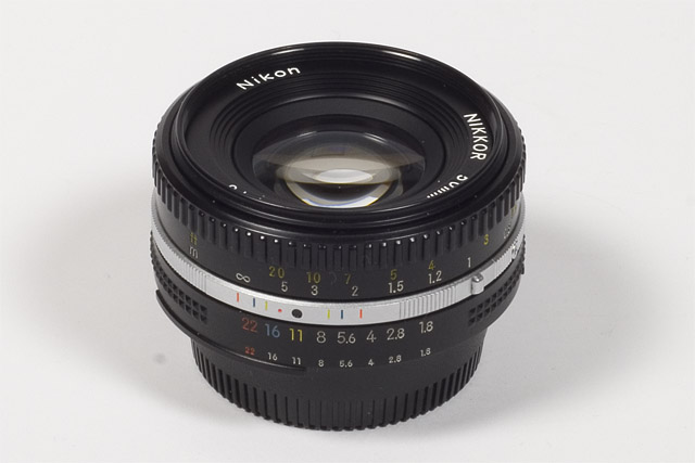 Nikkor Ai-S 50mm f/1 8 - Review / Lab Test Report
