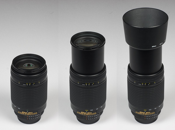 Looking At The Lens Schemas Nikkor AF 70 300mm F 4 56G Is Also Virtually Identical Except For ED Element And Outer Cosmetics