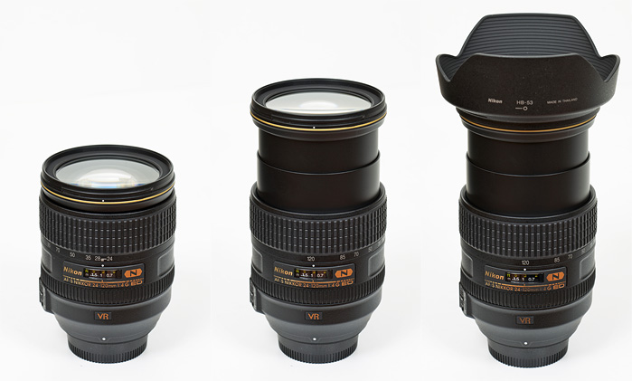 Nikkor AF-S 24-120mm f/4G ED VR (FX) - Review / Test Report