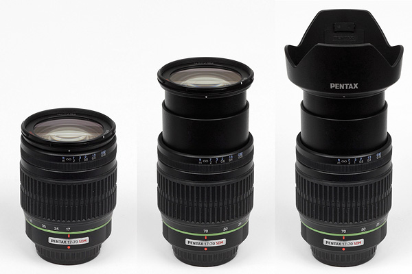 The DA 17-70mm f 4 features the new near-silent Supersonic (ultrasonic)  Dynamic Motor (SDM) AF. Unlike the DA  16-50mm f 2.8 SDM it does not offer  the old ... 00b180b58b7