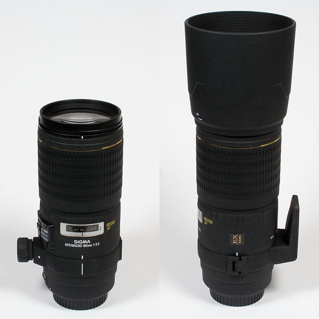 Sigma AF 180mm f/3.5 EX HSM APO macro - Review / Test Report