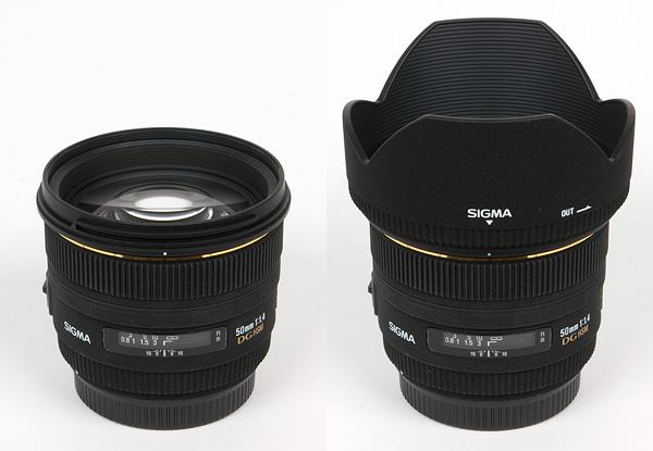 Sigma AF 50mm f/1 4 EX DG HSM (Canon) - Review / Test Report