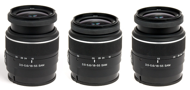 Sony 18-55mm f/3 5-5 6 SAM DT - Review / Lab Test